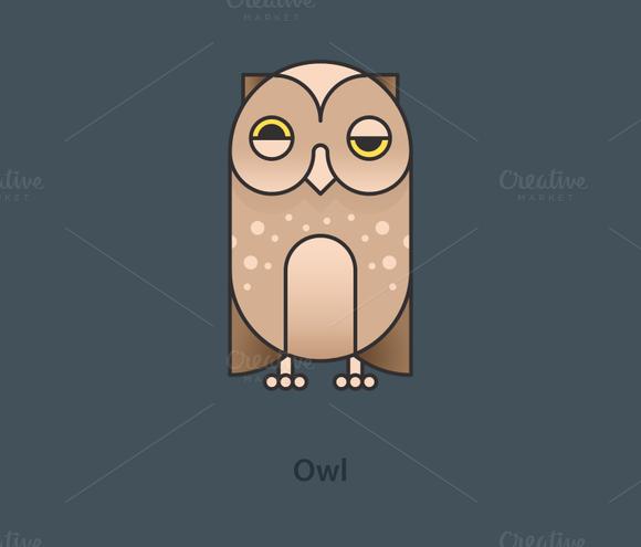 Simply Animals Owl