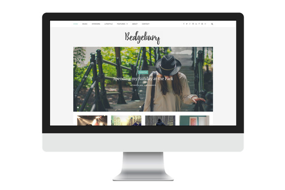 Bedgebury A Stylish Blogging Theme