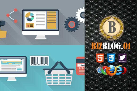Biz Blog 01 Premium HTML5 Template