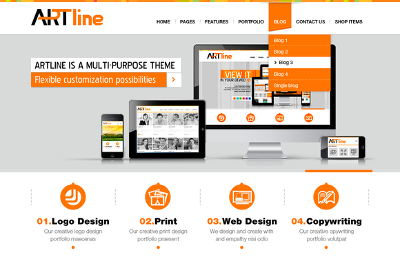 Artline HTML Template