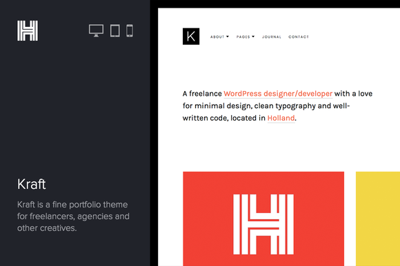 Kraft Portfolio WordPres Theme