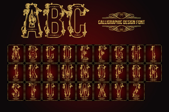 Premium calligraphic design set torrent � designtube