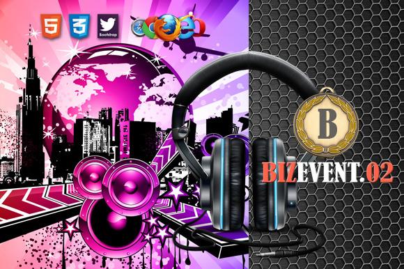 Biz Event 02 Premium HTML5 Template