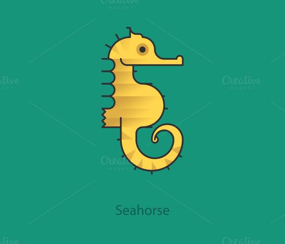 Simply Animals Seahorse