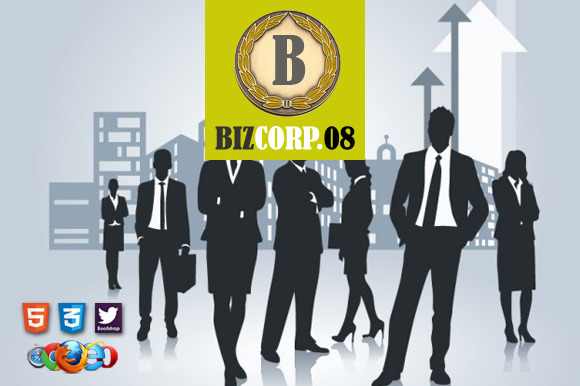 Biz Corp 08 Premium HTML5 Template