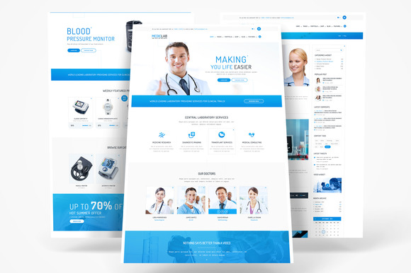 MedicLab Health Care WP Theme