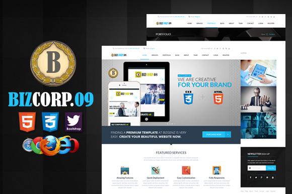 Biz Corp 09 Premium HTML5 Template