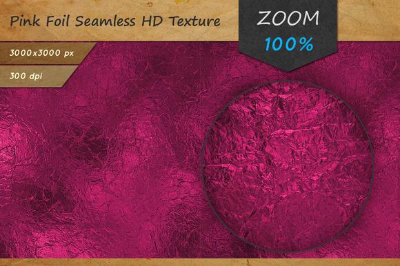 Pink Foil Tileable HD Texture