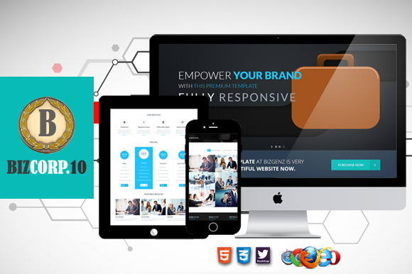 Biz Corp 10 Premium HTML5 Template