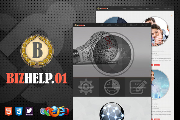 Biz Help Desk 01 Powered By Joomla