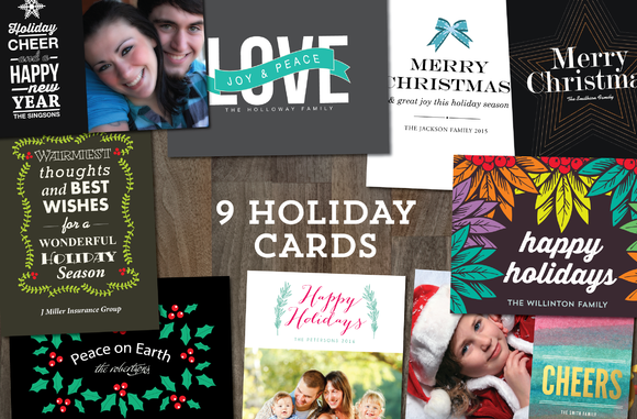 9 Holiday Cards Templates 2