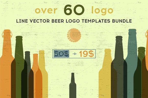 Beer Logo Templates Bundle