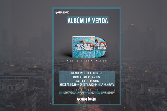 Flyer For CD Sell