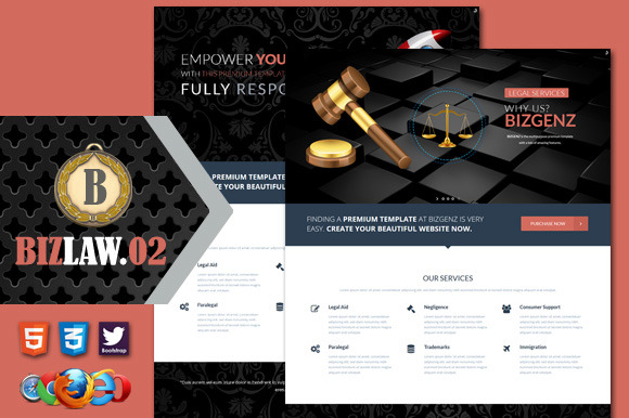 Biz Law 02 Premium HTML5 Template