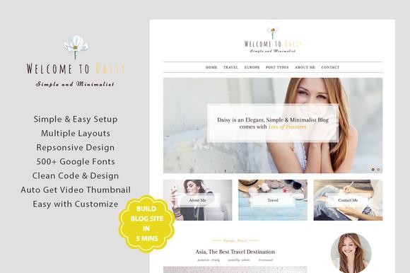 DaiSy A Responsive WordPress Blog