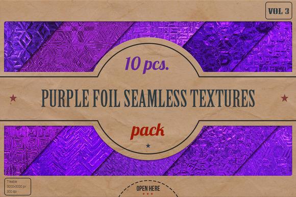 Purple Foil HD Textures Pack V.3