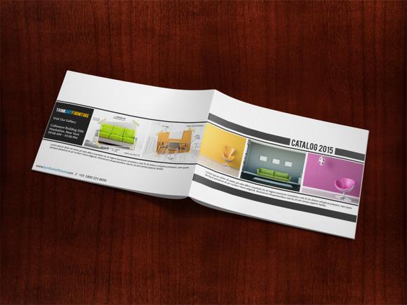 Minimalist Catalog Presentation