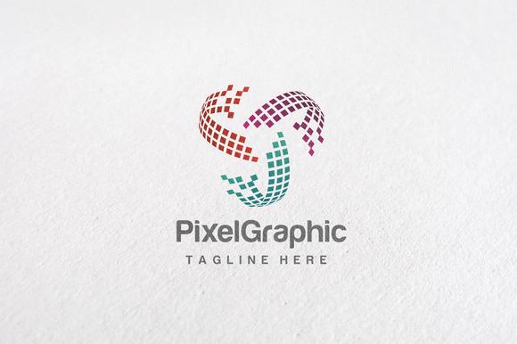 Premium Pixel Graphic Logo Templates