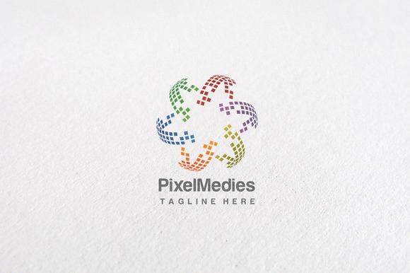 Premium Star Pixel Logo Templates