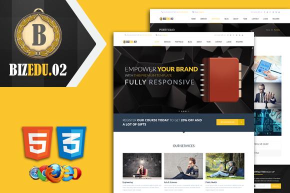 Biz Edu 02 Premium HTML Template