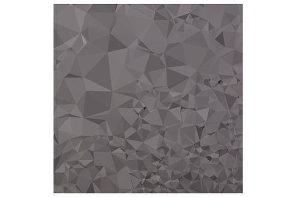 Trolley Grey Abstract Low Polygon Ba