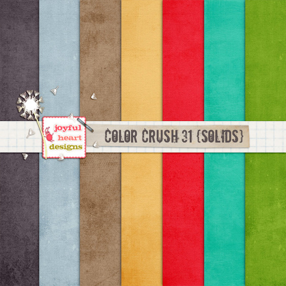 Color Crush 31 {solids}