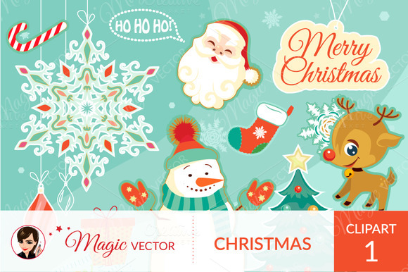 Christmas Clipart Commercial Use