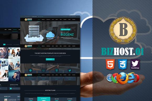 Biz Host 01 Premium HTML5 Template