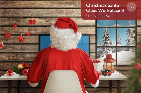 Christmas Santa Claus Workplace 3