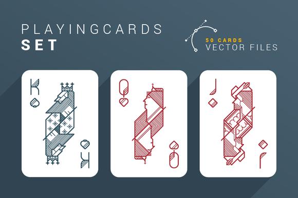 Playing Cards Set *50