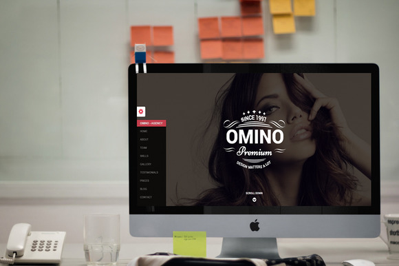 Omino Responsive Bootstrap Bundle