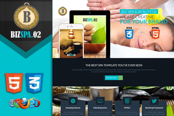 Biz Spa 02 Premium HTML5 Template
