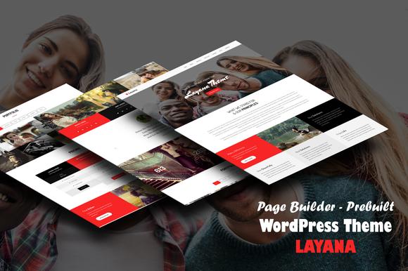 Layana One Page WordPress Theme