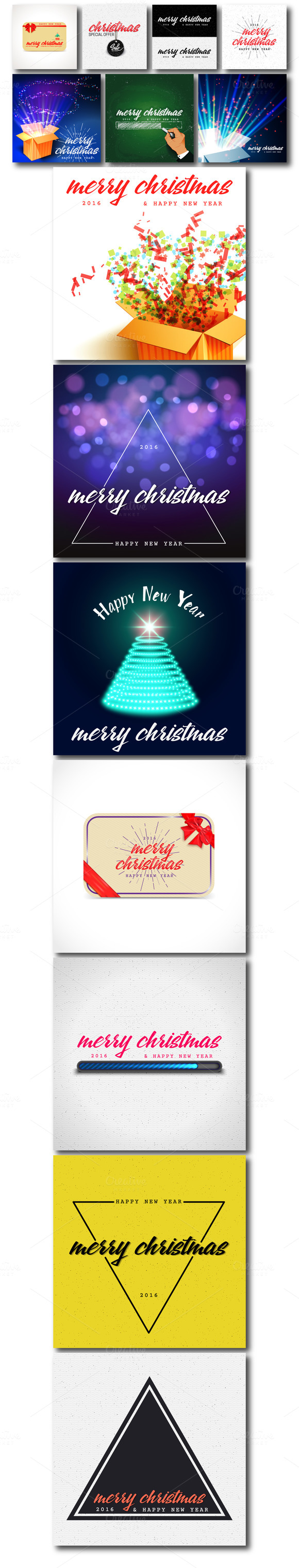 Christmas Badges Labels