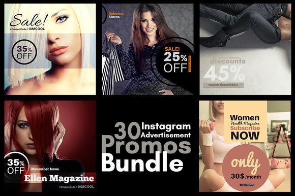 30 Instagram Advertisement Promos
