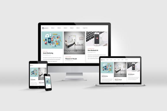 Rashi Modern WordPress Blog Theme