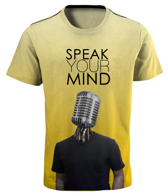 Top T-Shirt In 2015 Speak Your Mind