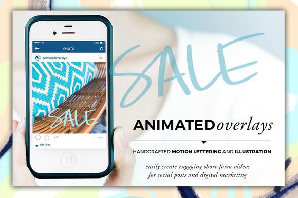 Animated Overlay Sale