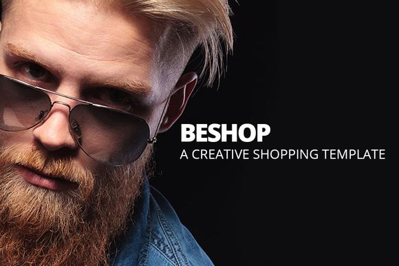 BeShop Shop Ecommerce Site Template