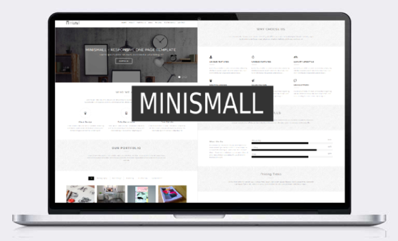 Minismall Responsive Template