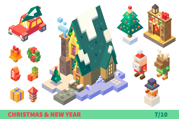 Christmas Characters And Items