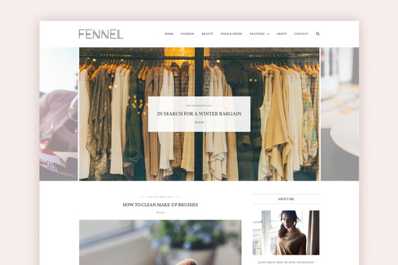 Fennel A Chic WP Theme Save $20