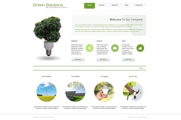 Green Solutions Joomla Theme