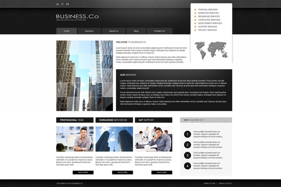 Business Co Joomla Theme