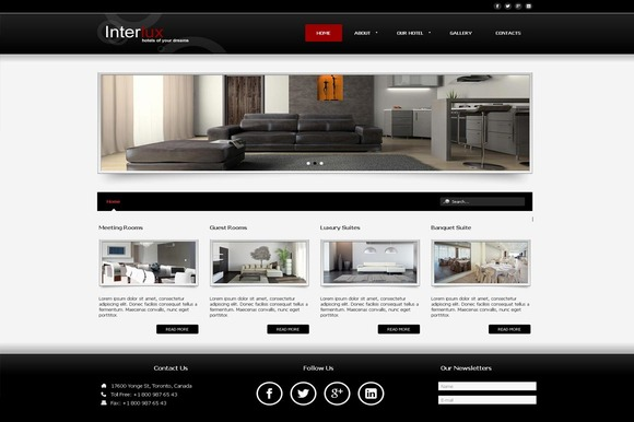 InterLux Business Joomla Theme