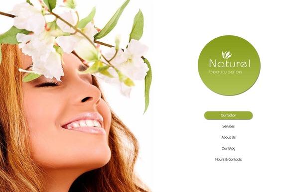Naturel Beauty Salon Joomla Theme