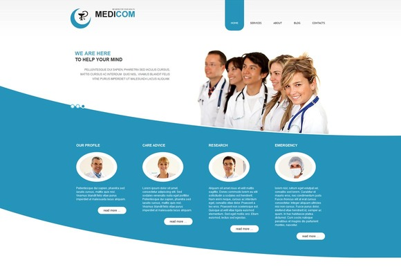 Medicom Medical Joomla Theme