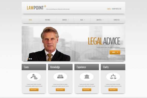 Low Point Business Joomla Theme