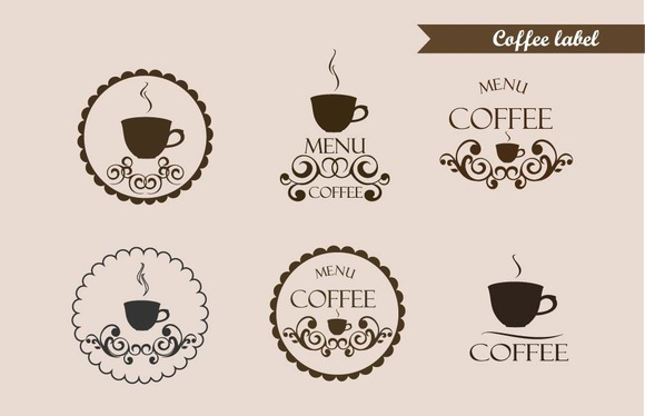 Coffee Label Logo