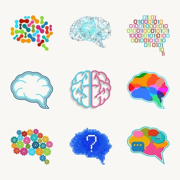 Brain Creation And Idea Vector Icon